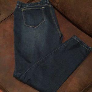 Style &Co jeans size 16 worn once dark denim